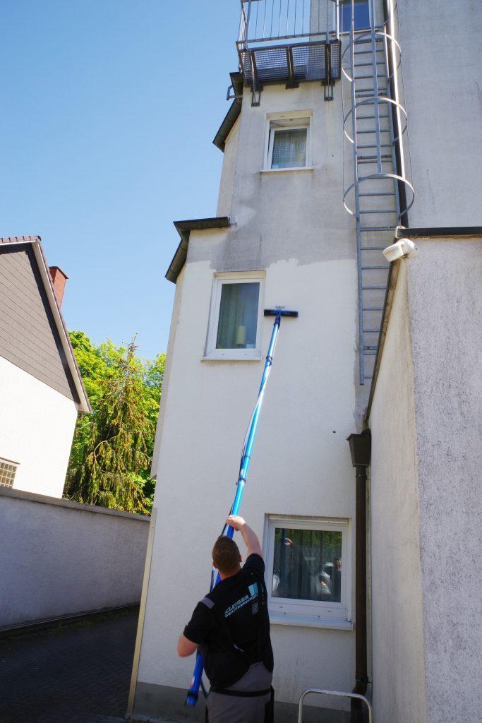 Reinigung WDVS-Fassade